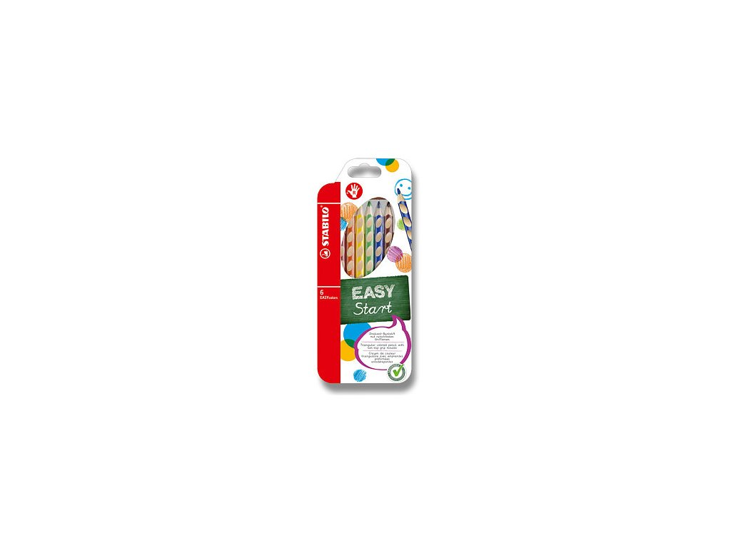 Pastelky Stabilo EASYcolors 6ks pro praváky