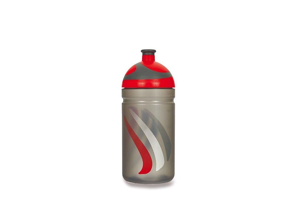 Zdravá láhev 0,5l Bike červená