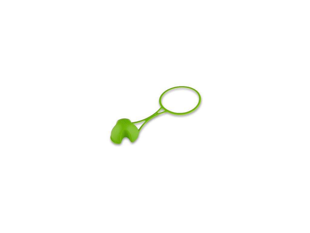 Krytka Floppy pro zdravou láhev - zelená