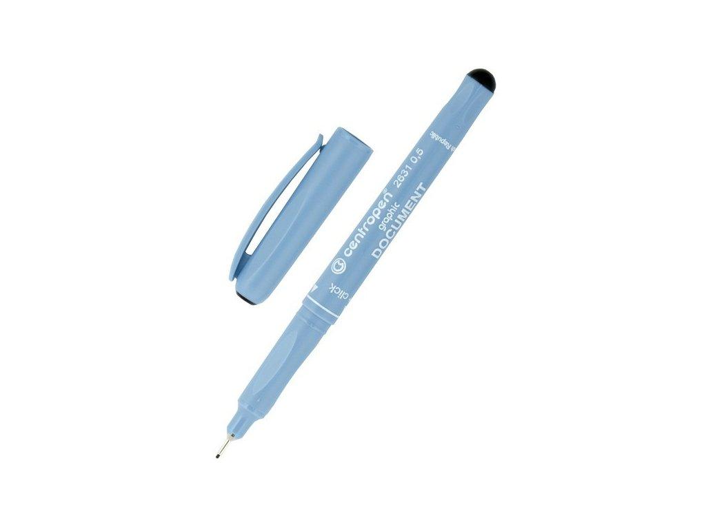 Dokument pen Centropen 2631 01 černá