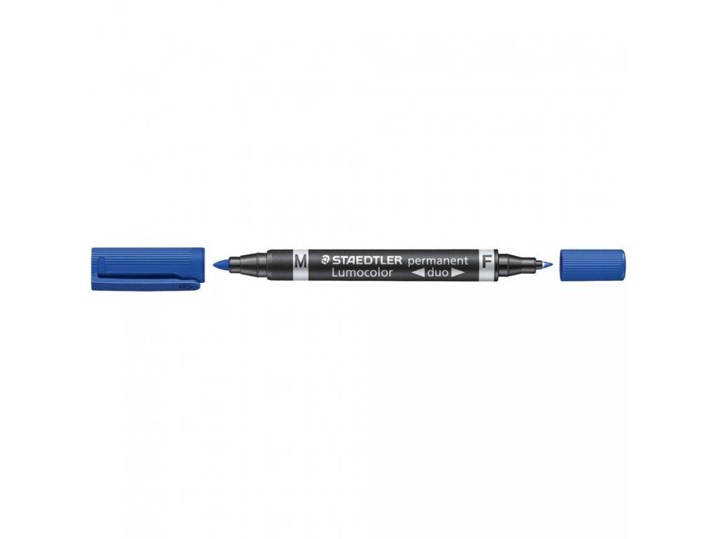Fix Staedtler Lumocolor duo 348 modrý