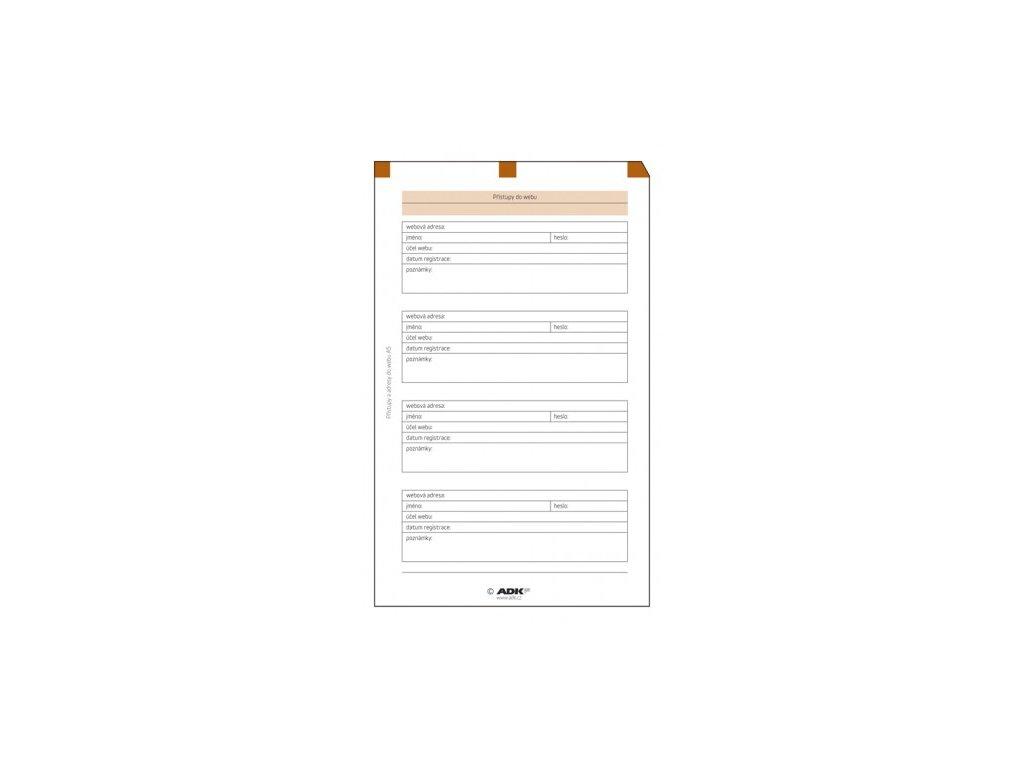 ADK Přístupy do webu A5 /5 listů/