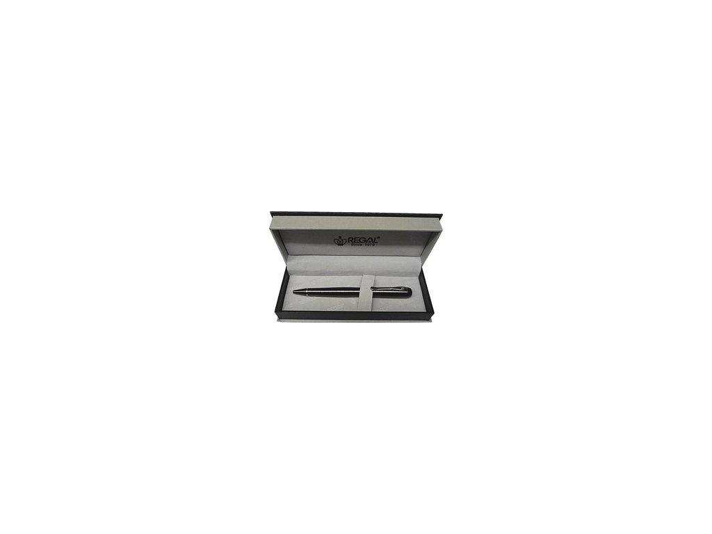 Regal Wellington - kuličkové pero - hnědé - P3121611B