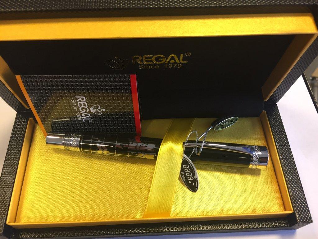 Regal Oxford - černé - inkoustové pero