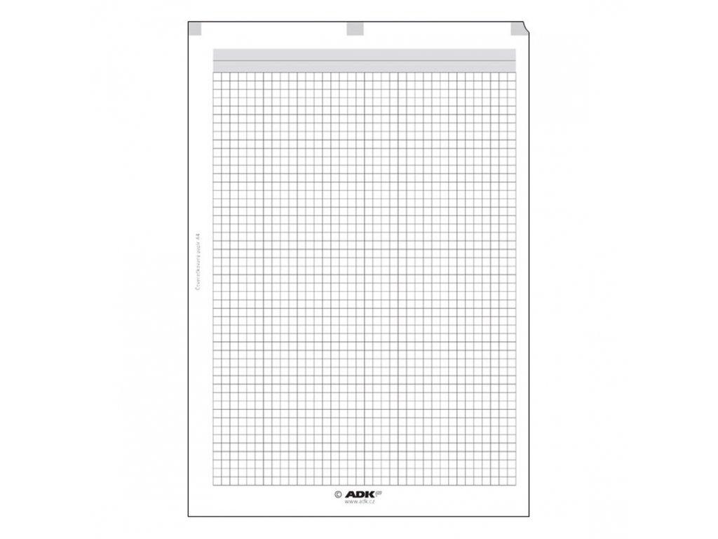 čtverečkovaný papír ADK A4