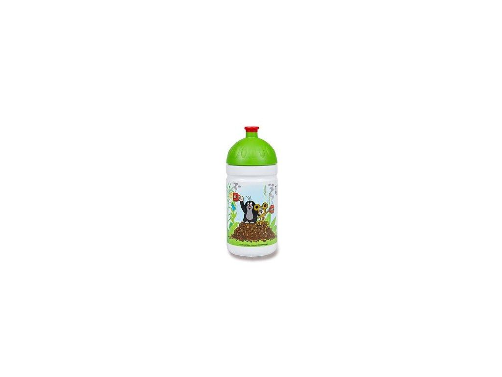 Zdravá láhev 0,5l  Krtek a jahody, zelená - limitovaná edice
