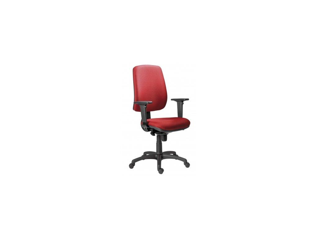 Kancelářská židle 1640 ATHEA ASYN L680 šedo/černá