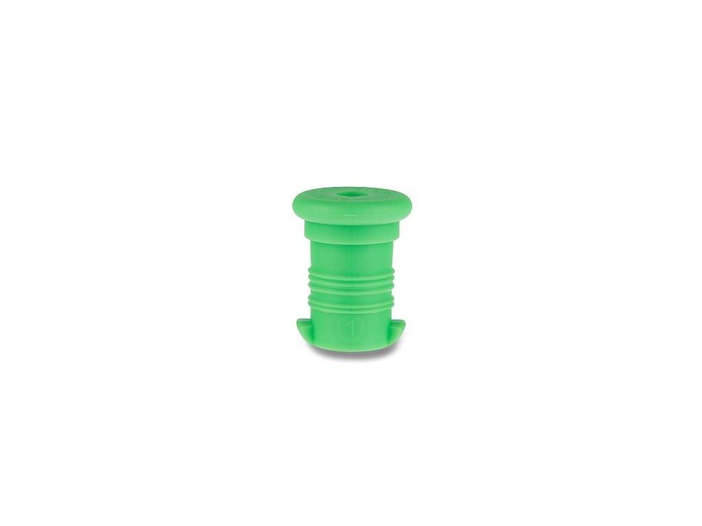 zátka zelená fluo