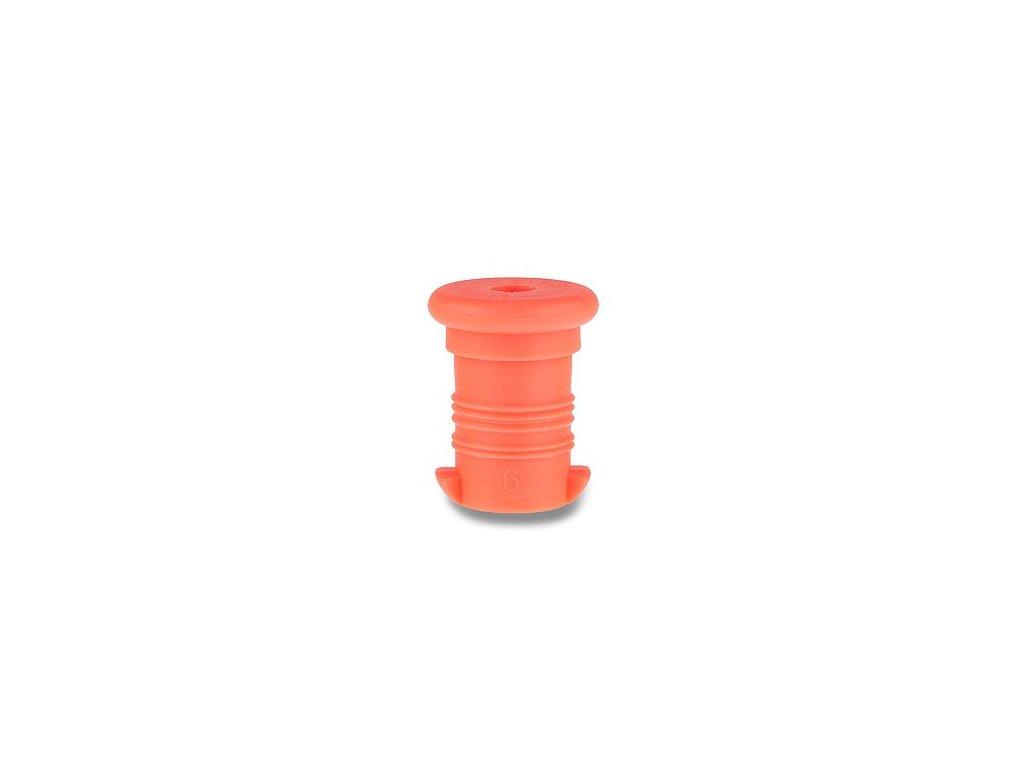 zátka oranžová fluo