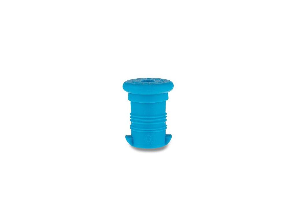 zátka modrá fluo
