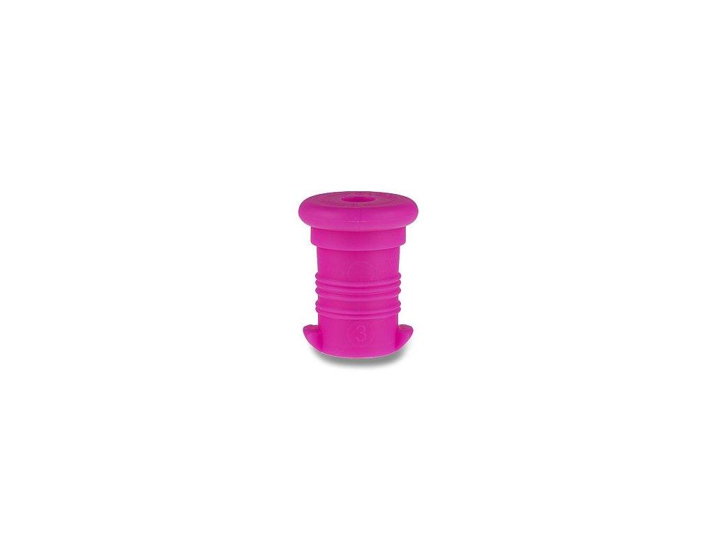 zátka fialová fluo