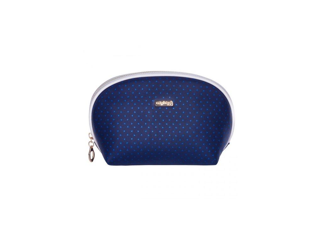Kosmetická taška blue triangles