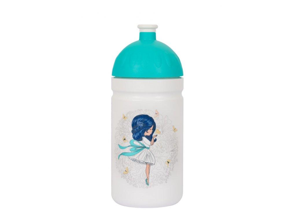 Zdravá láhev 0,5l  Dívka s mašlí