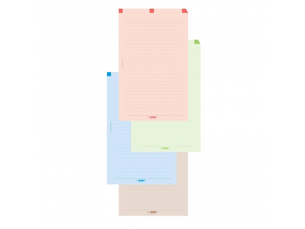 barevné listy adk a5