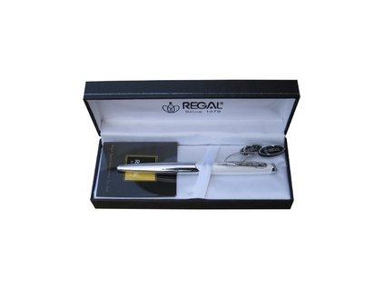 Regal Themis - kuličkové pero - bílé P25407B
