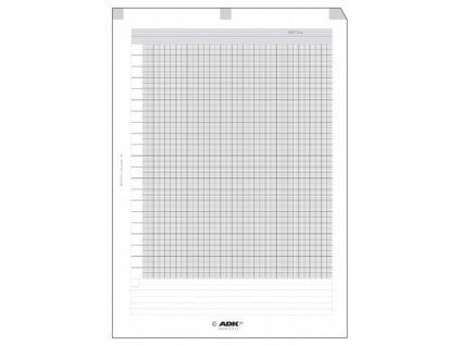 ADK Milimetrový papír A4 5 listů