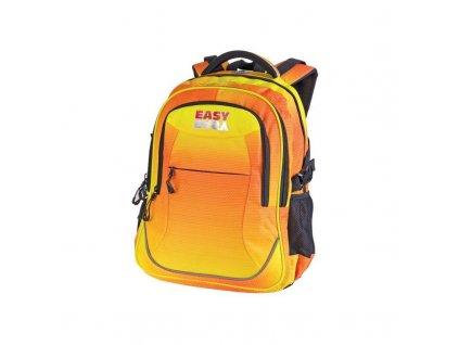 Batoh školní  žluto-oranžový, 26l 3 komorový