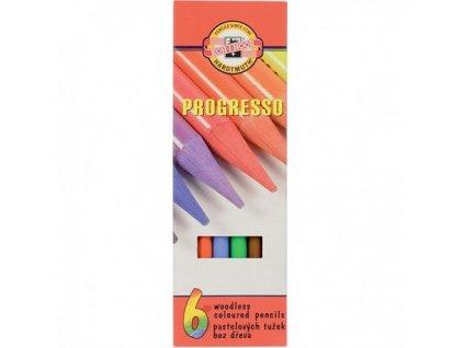 Pastelky Progressa Koh-i-noor - 8755/6 ks