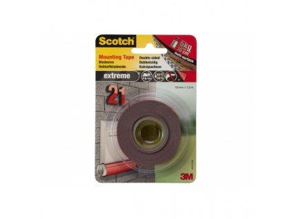 Lepící páska 3M Scotch Permanent Super silná 19mm x 1,5m 40021915A