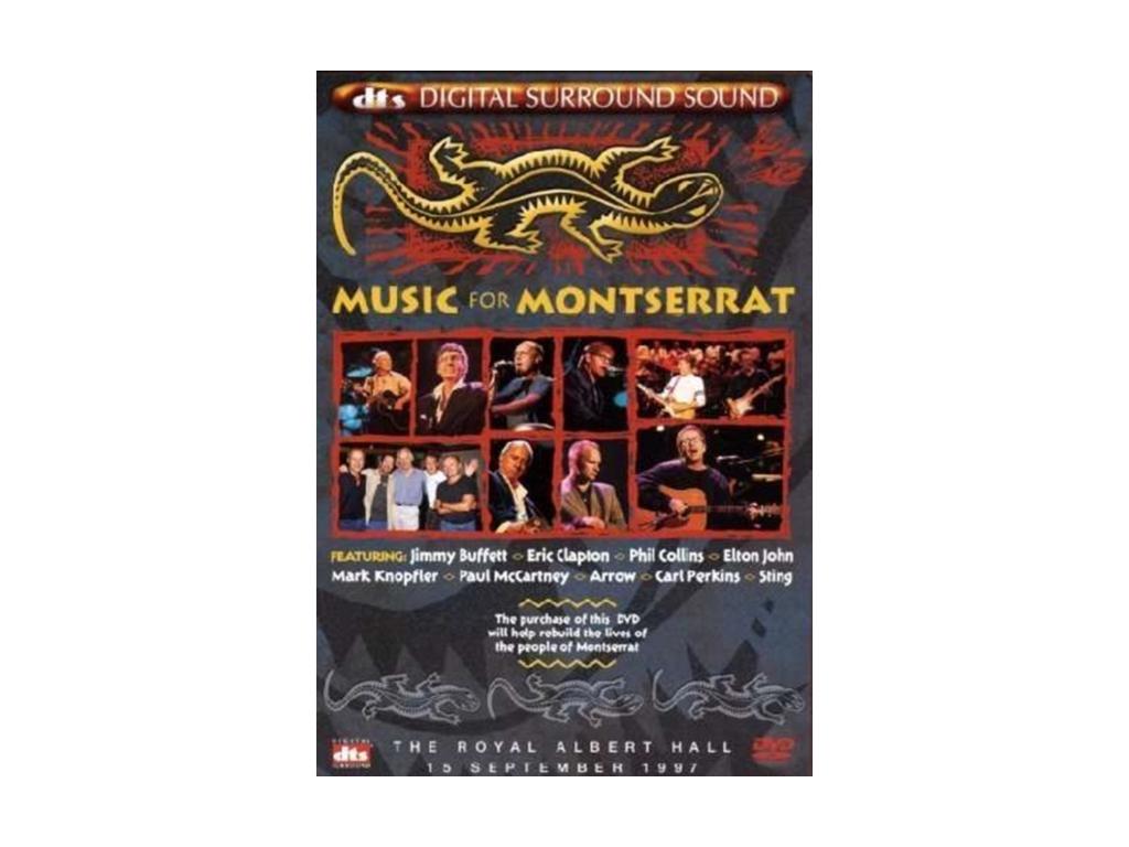 Music For Montserrat (Various Artists) (DTS) (DVD)