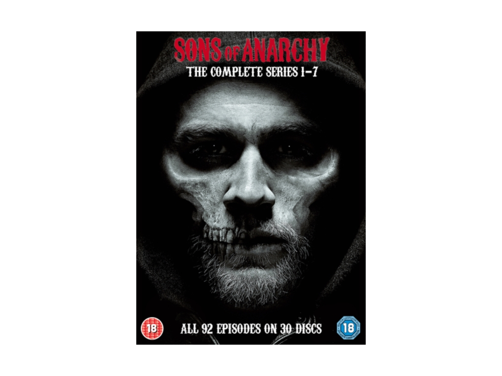 Sons Of Anarchy: Complete Seasons 1-7 (DVD)