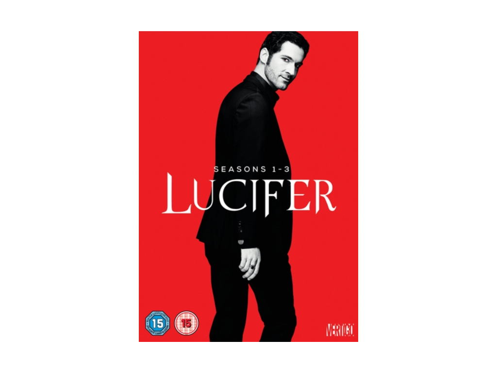 LUCIFER S1-3 [DVD] [2018]
