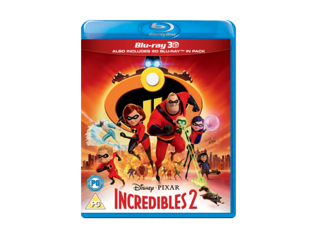 Incredibles 2 [3D + Blu-ray] [2018] [Region Free]