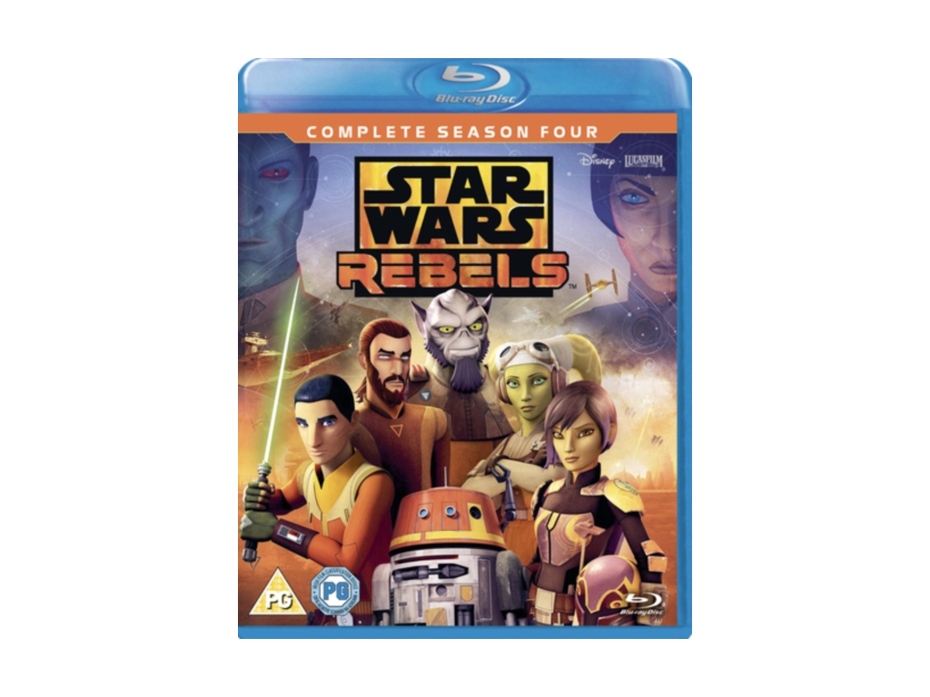 Star Wars Rebels: Season 4 (Blu-ray) [2018]