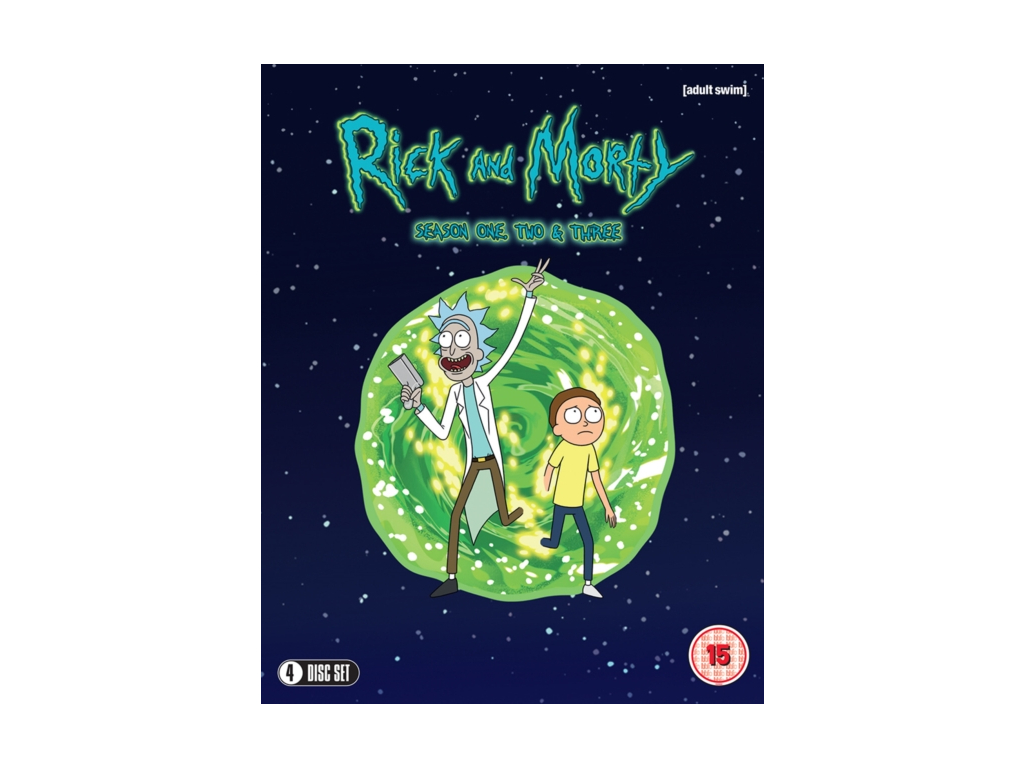 Rick & Morty Season 1-3 (Blu-ray)