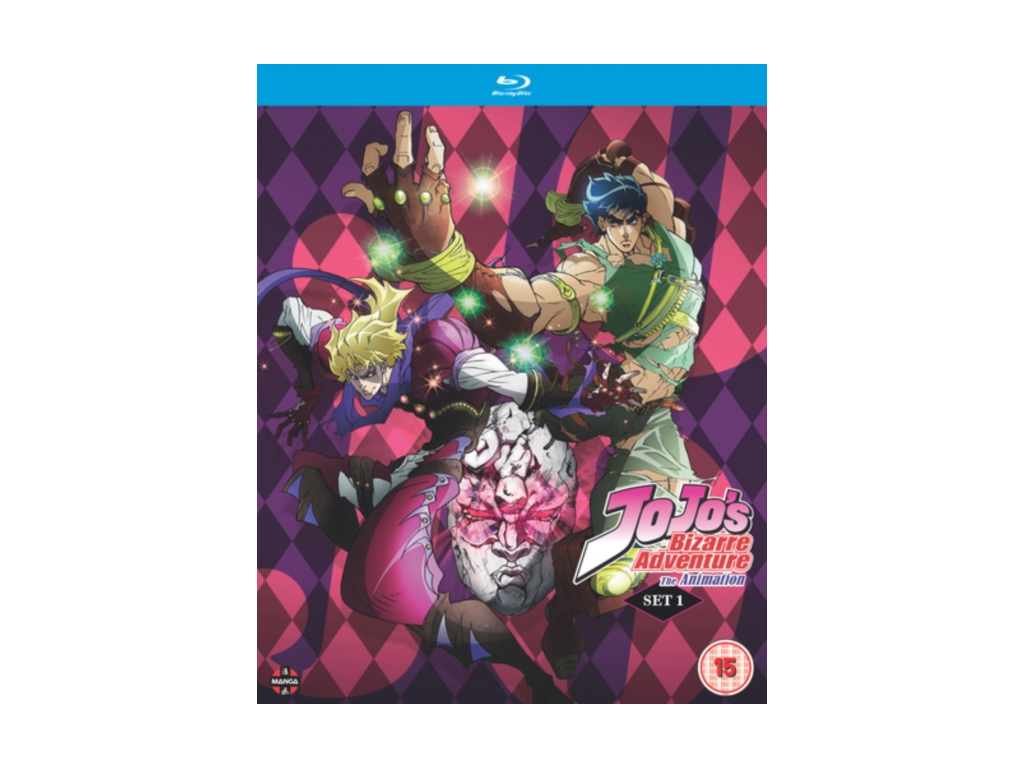 JoJo's Bizarre Adventure Set One: Phantom Blood / Battle Tendency (Eps 1-26) - Blu-ray