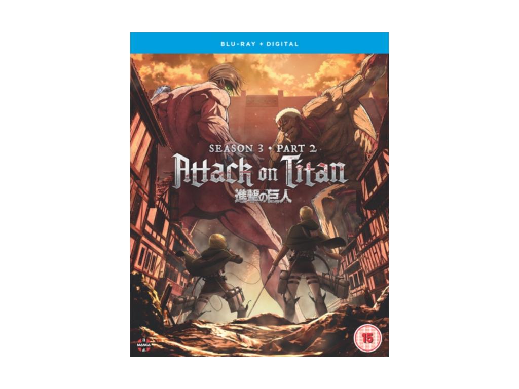 Attack on Titan: Season Three Part Two - Blu-ray