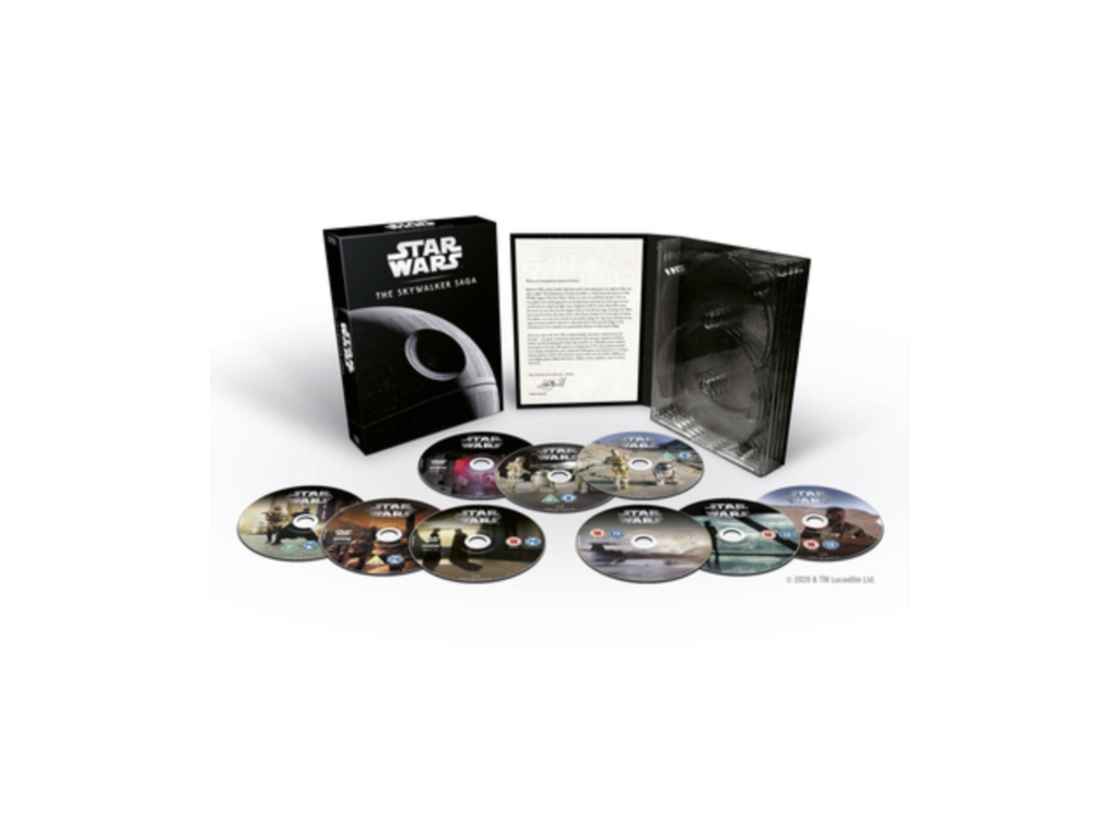 Star Wars: The Skywalker Saga Complete Boxset DVD [2019]