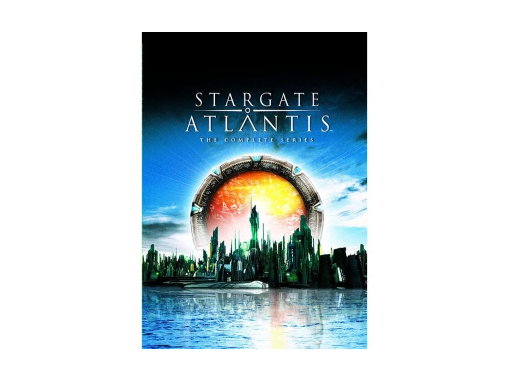 Stargate Atlantis - Series 1-5 Complete (DVD)