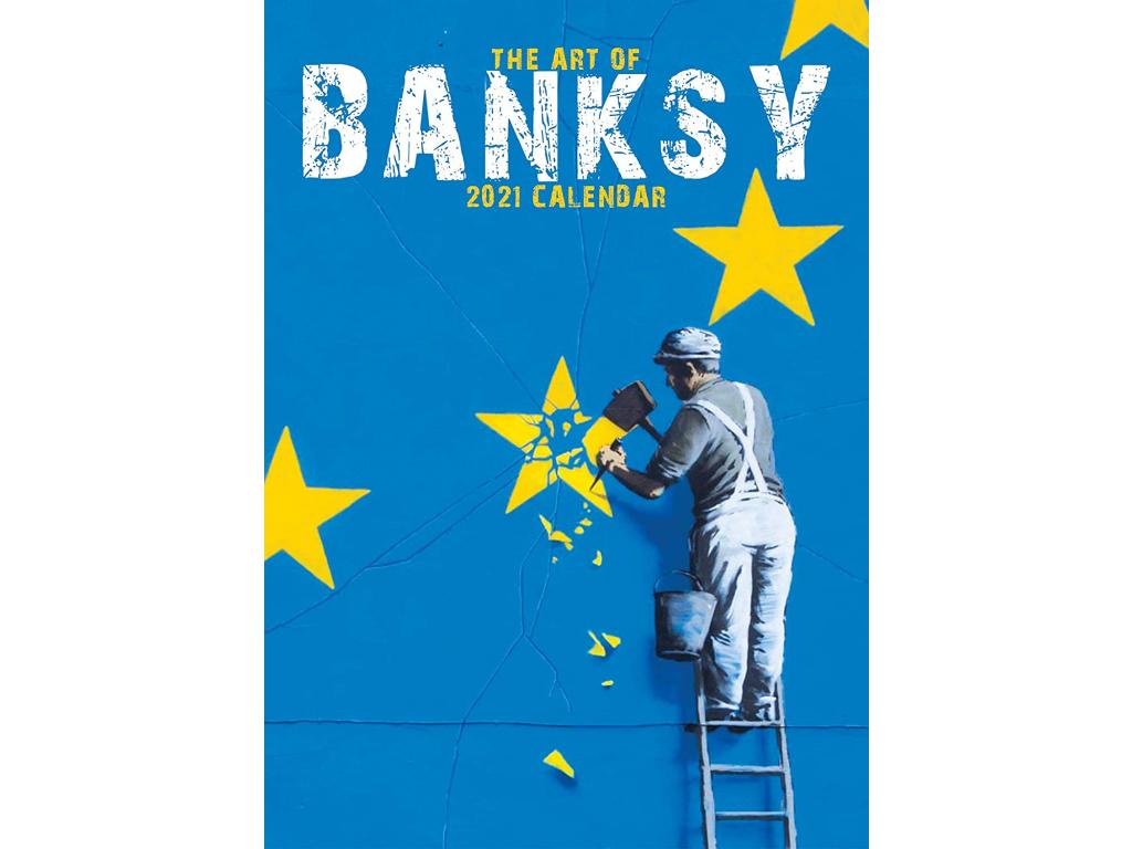 banksy kalendář 2021 a3