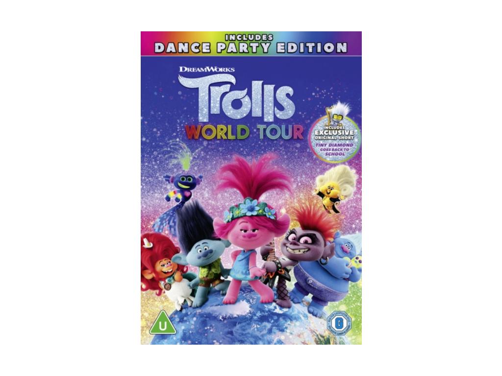 Trolls World Tour (DVD) [2020]