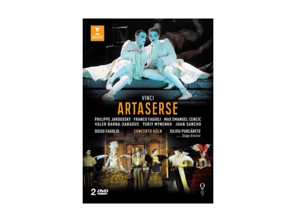 FASOLIS/KOLN CON/PURCARETE - Vinci/Artaserse (DVD)