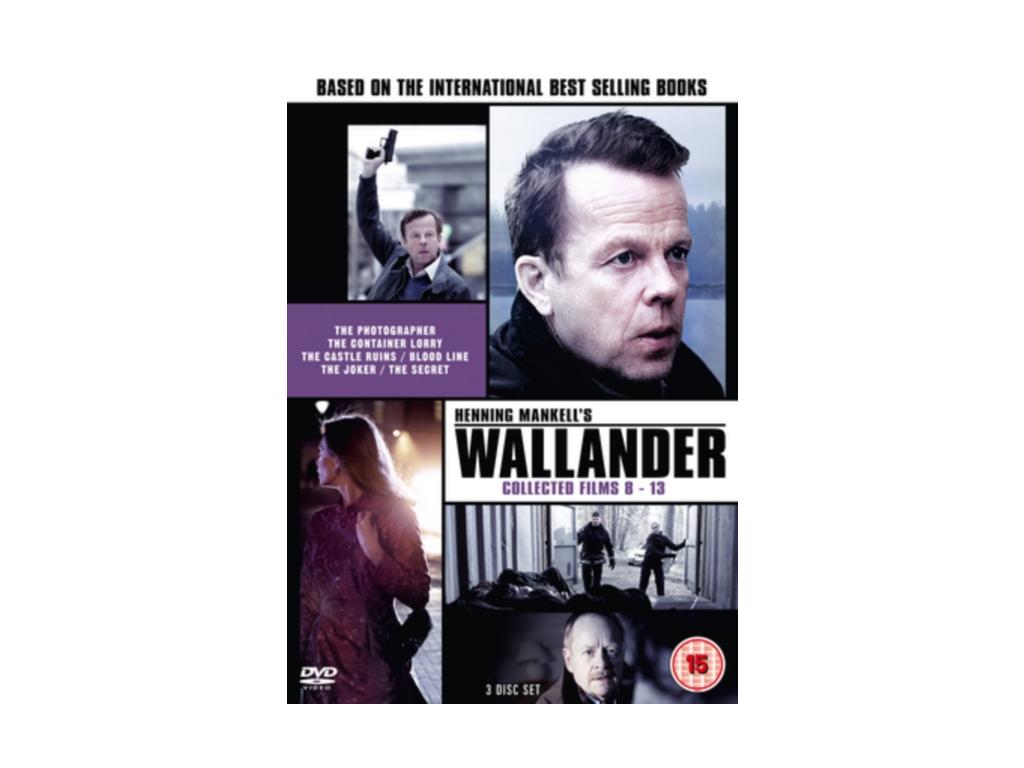 Wallander  Collected Films 813 (DVD)