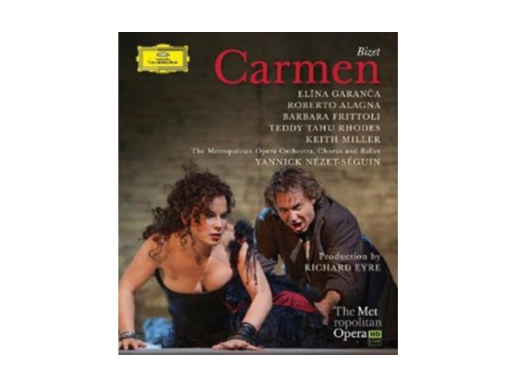 GARANCA/ALAGNA/NEZET-SEGUIN - Bizet/Carmen (Blu-ray)
