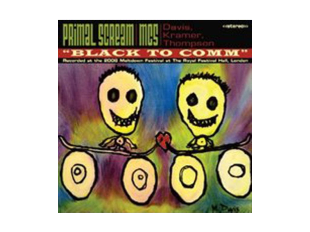 PRIMAL SCREAM / MC5 - Black To Comm - Live At The Royal Festival Hall London Meltdown (DVD)