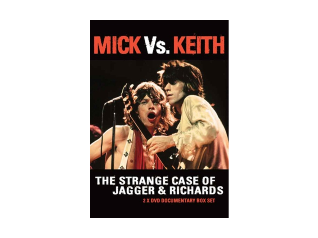 ROLLING STONES - Mick Vs. Keith - The Strange Case Of Jagger & Richards (DVD)