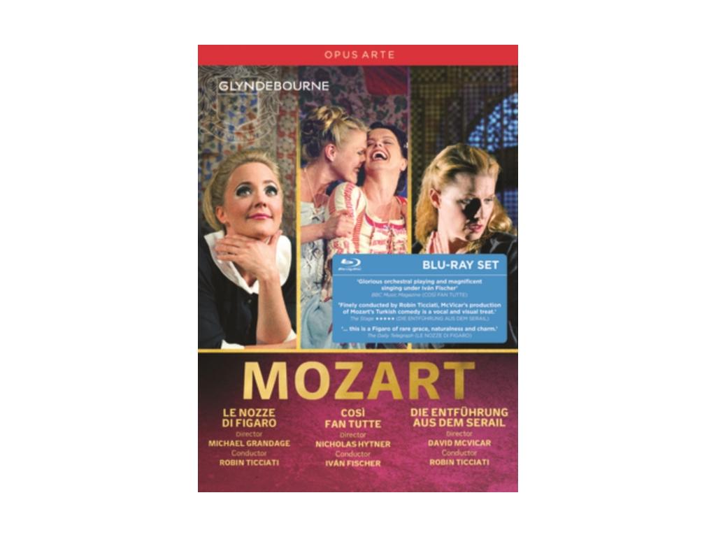 VARIOUS ARTISTS - Mozart / 3 Operas Box Set (Blu-ray Box Set)