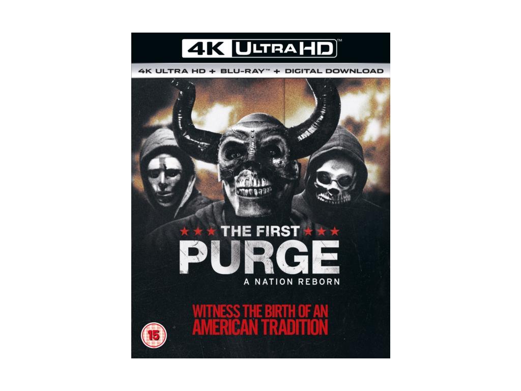 First Purge. The (4K UHD) (Blu-ray 4K)