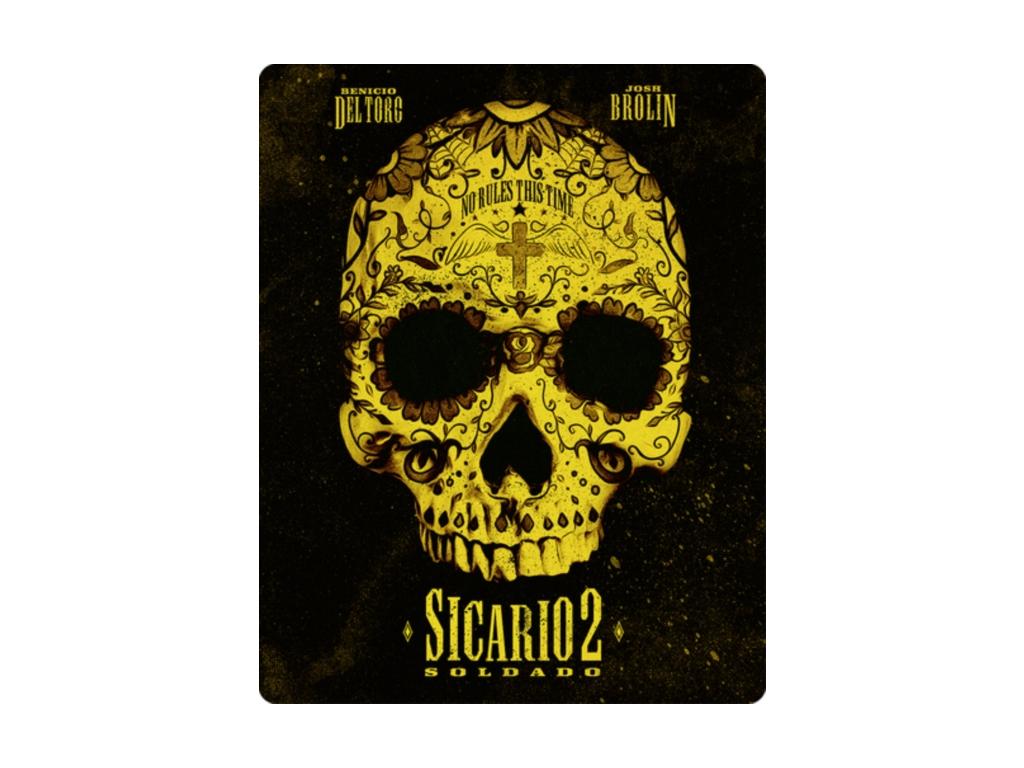 Sicario 2: Soldado (Steelbook) (Blu-ray 4K)