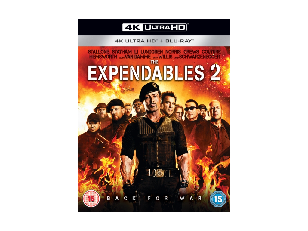 Expendables 2. The (Blu-ray 4K)