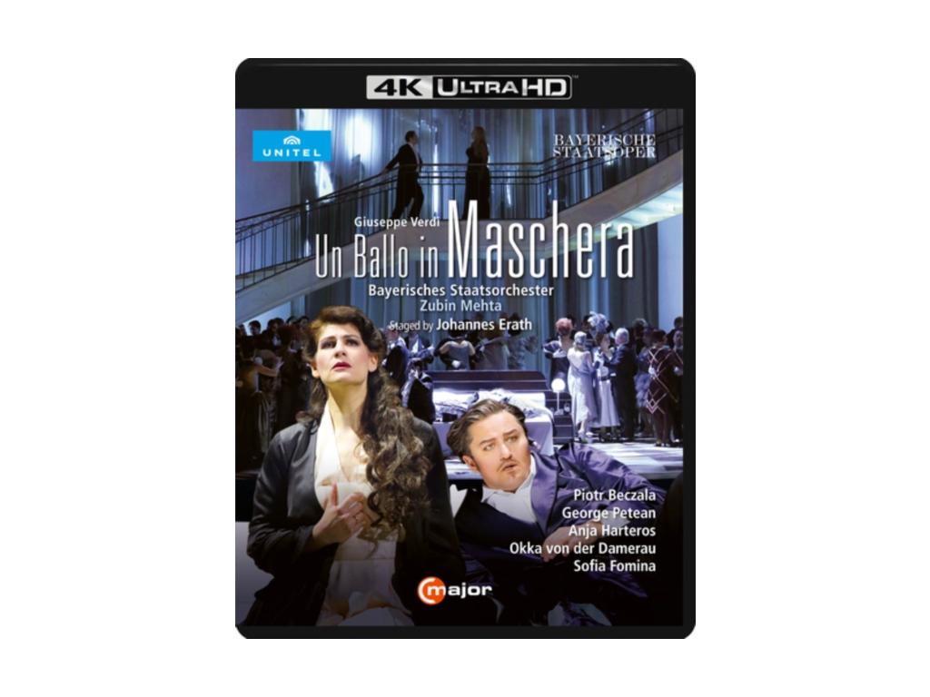 VARIOUS ARTISTS - Verdi: Un Ballo In Maschera (Blu-ray + DVD)