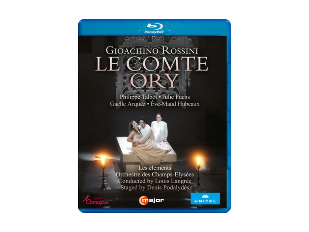 VARIOUS ARTISTS - Gioachino Rossini: Le Comte Ory (Blu-ray + DVD)