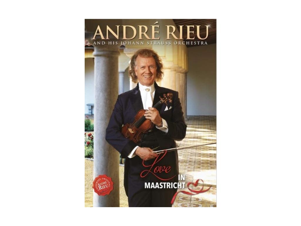 ANDRE RIEU & HIS JOHANN STRAUSS ORCHESTRA - Love In Maastricht (DVD)