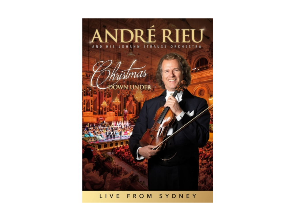 ANDRE RIEU & HIS JOHANN STRAUSS ORCHESTRA - New Years Concert (DVD)