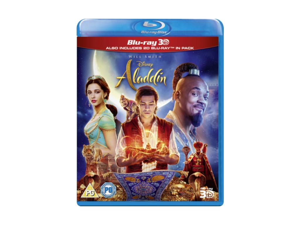 Aladdin Live Action (Blu-ray 3D)
