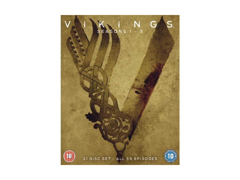 Vikings Seasons 1-5 (Blu-ray)